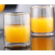 Set 2 pahare thermo DAY BY DAY, pentru ceai, lapte, bautura rece sau calda, 300ml, DelCaffe