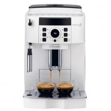 Espressor automat DeLonghi, ECAM 21.117 Wh, 1450W, 15 bar, Rasnita cafea integrata, Alb