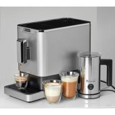 Pachet Espressor automat  Studio Casa DIVA DE LUXE, cafea boabe, 1.1 l, 1470W,  19Bar,inox +Aparat Spumat Lapte